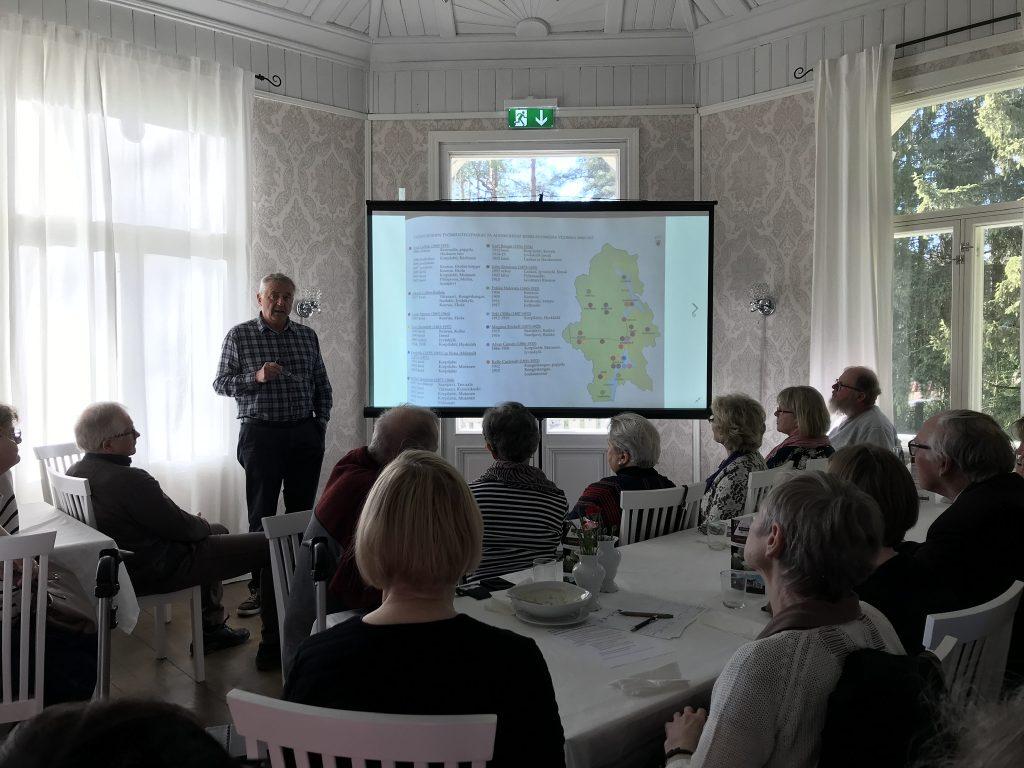 Toukokuussa 2019 Jyväskylä-Seuran